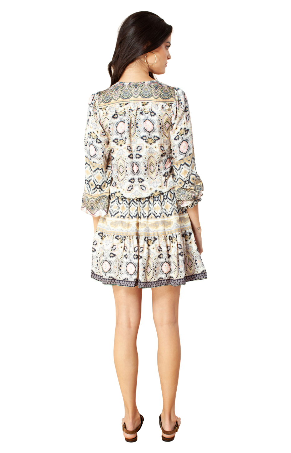 Hale Bob - Printed Washed Rayon Dress
