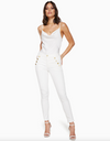 Ramy Brook - Helena Skinny in White Denim