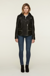 SOIA & KYO - Brandy Leather Jacket - Lydia's World Boutique