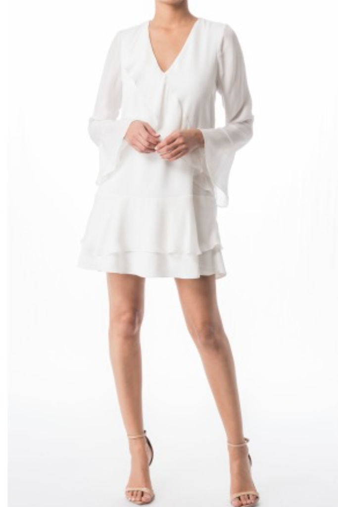 Parker - Neave Combo Dress in Ivory FINAL SALE - Lydia's World Boutique