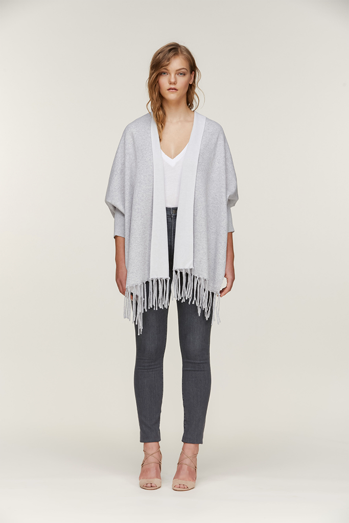 Soia & Kyo - Knit Scarf in Mist - Lydia's World Boutique