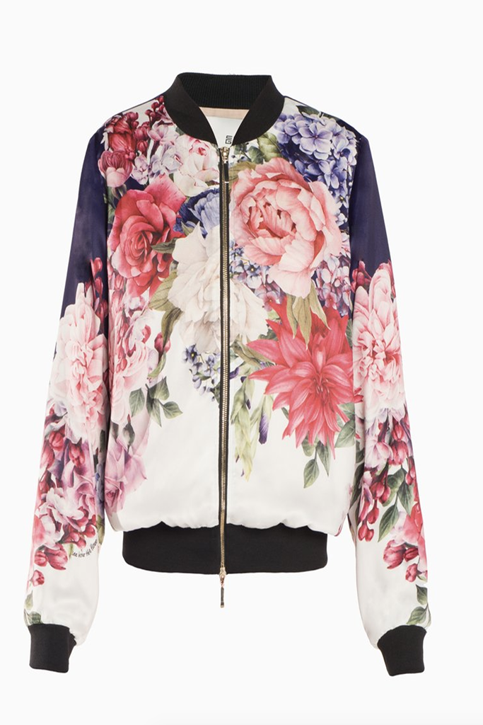 Chris Gramer - Silky Bomber - Lydia's World Boutique