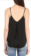 Brochu Walker - The Luna Cami in black - Lydia's World Boutique