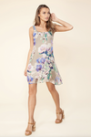 Hale Bob - Olive Floral Dress One XS Left! - Lydia's World Boutique