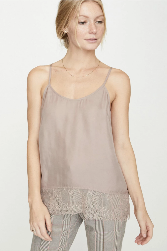 Brochu Walker - The Lai Camisole in Rose