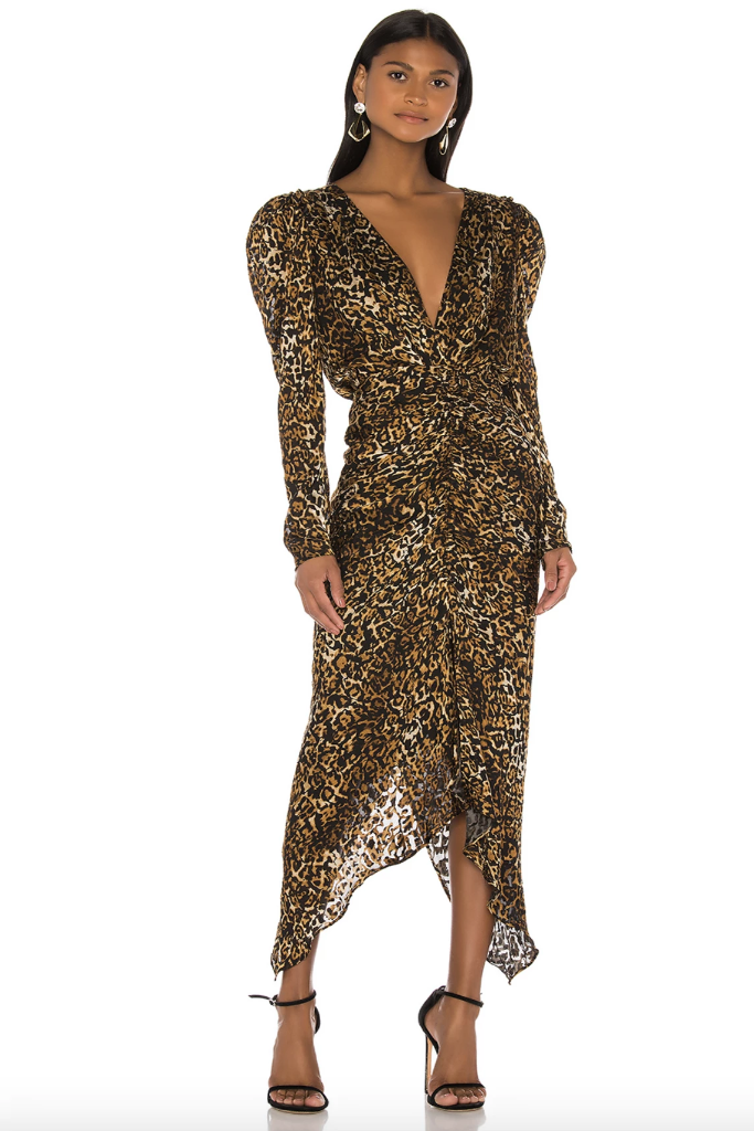 Ronny Kobo - Astrid Dress in Leopard