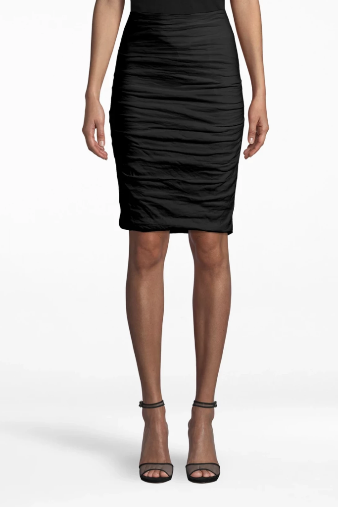 Nicole Miller - Sandy Skirt in Black