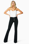 Ramy Brook - Cindy High-Rise Flare in Black