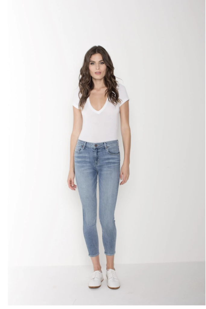 Parker Smith - Ava Crop Skinny in Current
