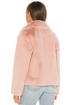 Soia & Kyo - The Emanuela Faux Fur Jacket in Quartz