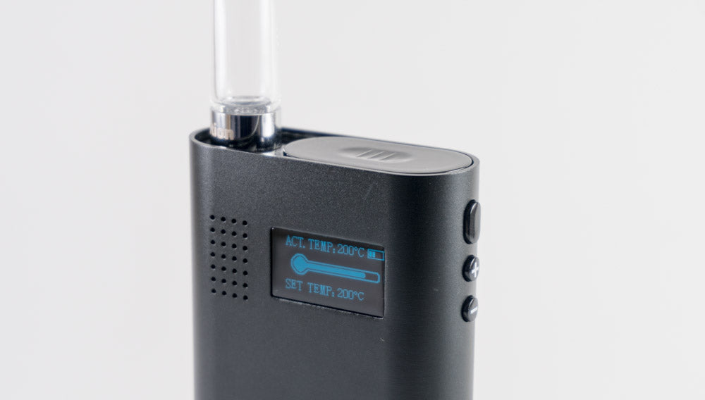 Flowermate V5.0s Vaporizer display