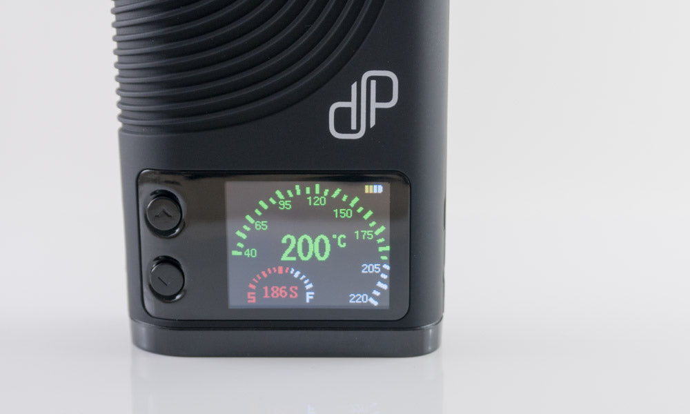 Boundless CFX Vaporizer display