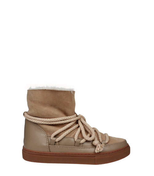 Women Classic Snow Wedge Sneakers