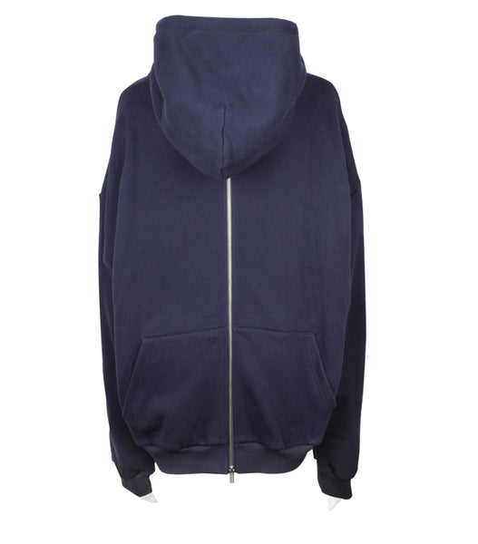 Back Zip Up Hoodie (Unisex)