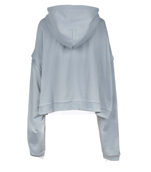 Cropped Zip-Up Hoodie (Unisex)