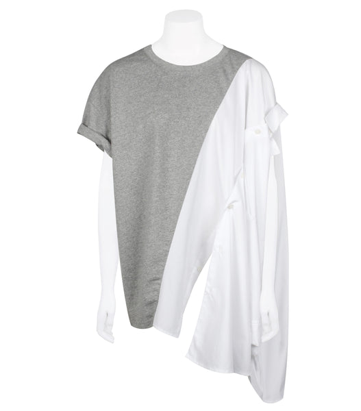 Multi-wear Patched Tee-shirt