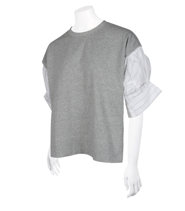 Puff Sleeve Crop Tee