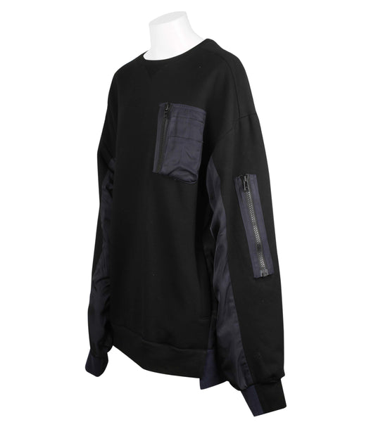 Oversized Panelled Sweatshirt (Unisex)