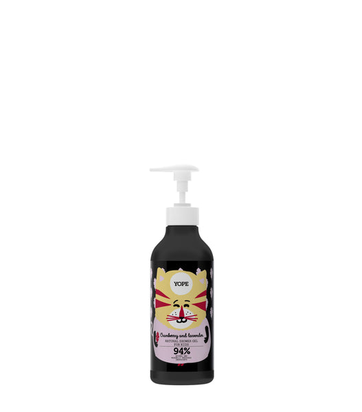 Cranberry & Lavender Shower Gel (Kids)(400 ml)