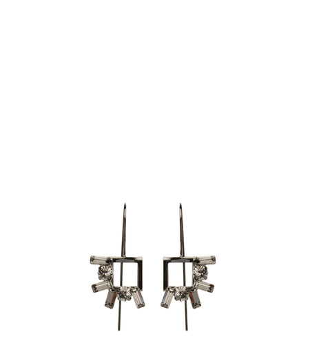 Vertical Knot Single Earring (Small)