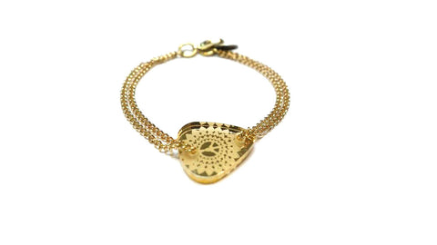 Golden Ticket Bracelet