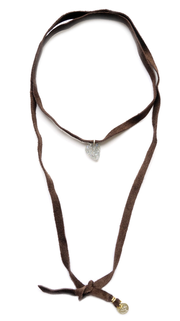 Leather Tie Chokers- Picks For Peace