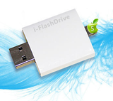 i-FlashDrive to transfer data between your iPad 4, iPad Air, iPad Mini, iPad Mini2, iPhone 5/5S/6/6+ and your Mac/PC