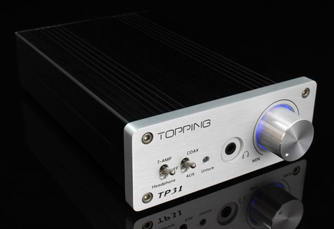 Topping TP31 Class T Amplifier & Coaxial DAC with Headphone Amp