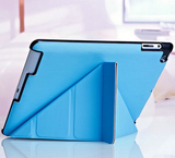 Smart Cover Magentic PU Leather Case for iPad2/3/4 - 4 Shapes