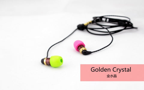 HiSoundAudio Golden Crystal In-Ear Earphones