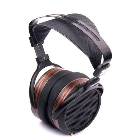 HiFiMan HE-560 Full-Size Planar Magnetic On Ear Headphones in Black/Woodgrain colour - FREE DHL SHIPPING