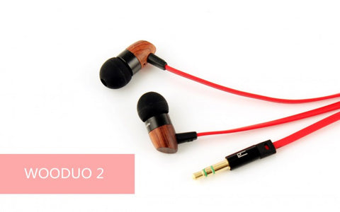 HW2 Wooduo 2 Earphones