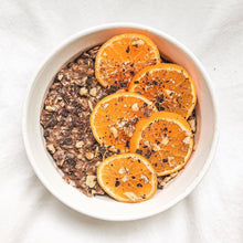 dark chocolate orange overnight oats