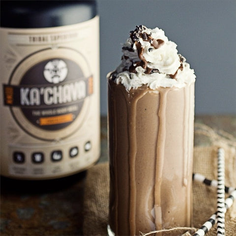 Delicious Chocolate Mocha Ka'Chava Smoothie Recipe
