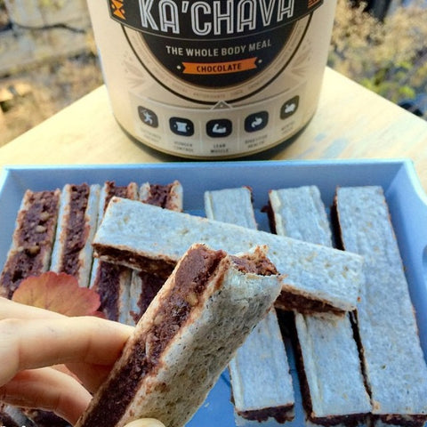 Healthy Chocolate Wafer Bars
