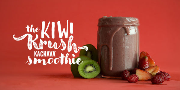 KIWI, STRAWBERRY + VANILLA KA'CHAVA