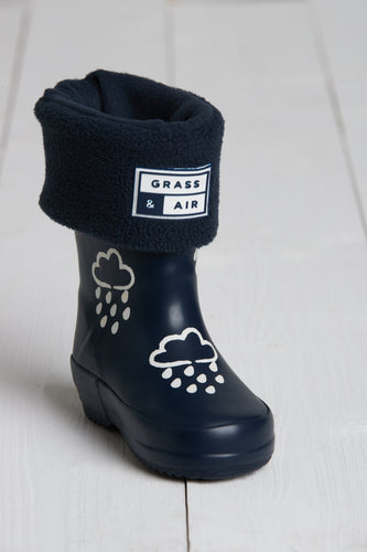 Mini Adventure Boots with Bag - Navy