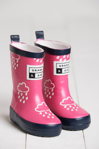 Mini Adventure Boots with Bag - Pink