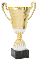0119-5400 Anacaona - Gold and white trophy cup