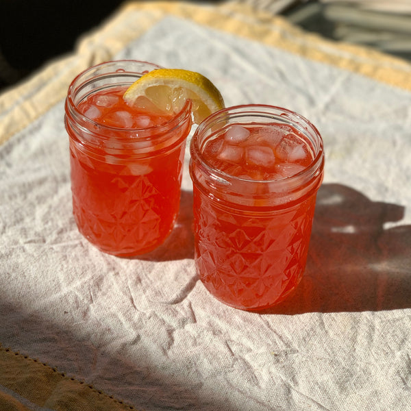 Herbal Pink Lemonade with Lemon Balm Recipe