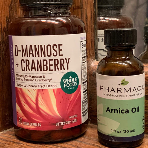 cranberry extract for UTI c-section