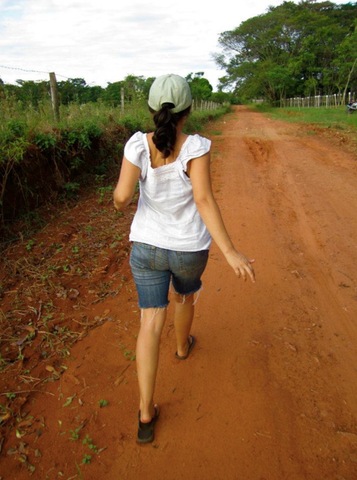 peace corps volunteer in rural community