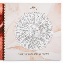 Load image into Gallery viewer, Menstrual Calendar Journal