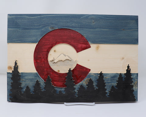 Colorado Forest Flag