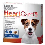 HeartGard Small to Medium Dog upto 11kg (6 Pack)