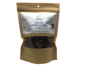 Dried Lamb Cubes 100gm