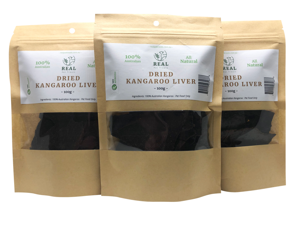 Dried Kangaroo Liver 100gm