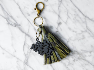 Beat Navy Keychain