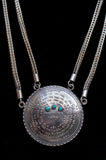 72 Names & Archangels 925 Double Silver Chain Amulet