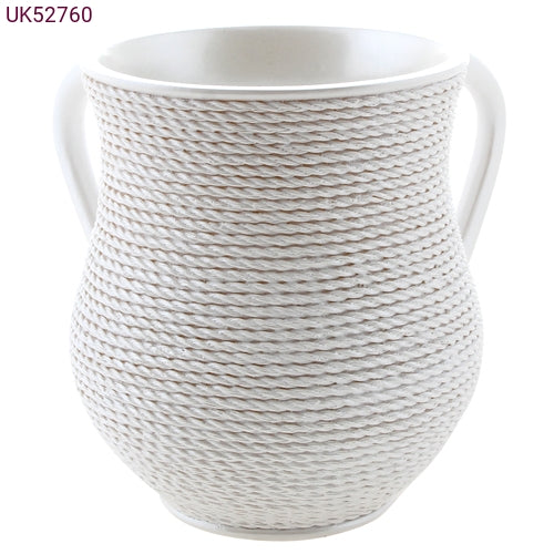 Washing Cup / Polyresin / White 760
